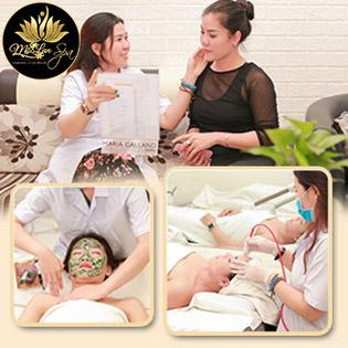 08 Gói Làm Đẹp Cao Cấp Massage Body + Foot/ Cấy Tảo/ Tế Bào Gốc/ Điều Trị Mụn/ Nối Mi/ Chạy Viamin C/ Tắm Trắng/ Triệt Lông Tại Mộc Lan Spa