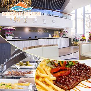 Mermaid Seaside Hotel - Vũng Tàu - 2N1Đ Phòng Superior Seaview - Bao Gồm Ăn Sáng + 02 Phần Ăn Tối Lãng Mạn Trong Phòng - Dành Cho 02 Khách