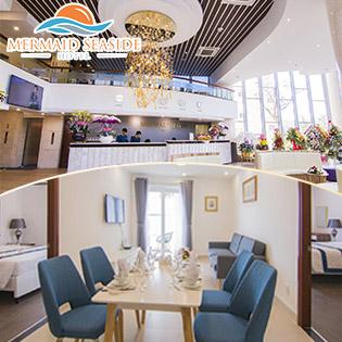 Mermaid Seaside Hotel Vũng Tàu - 2N1Đ Căn Hộ 2 Phòng Ngủ - Dành Cho 4 Khách - Gồm Ăn Sáng