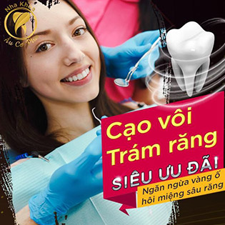 Nha Khoa Âu Cơ Plus - Cạo Vôi/ Trám Răng/ Răng Sứ Titan/ Răng Toàn Sứ Zirconia HT 100% Của Đức