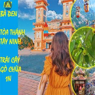 Tour Núi Bà Đen Tây Ninh 1 Ngày - Tòa Thánh Tây Ninh - Vườn Trái Cây Gò Chùa - Giá Chỉ Từ 490K