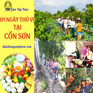 Tour Cồn Sơn 1 Ngày - Làng Bè - Trái Cây - Buffet Bánh Dân Gian Hot Nhất Miền Tây - Khám Phá Tuyệt Chiêu Cá Lóc Bay