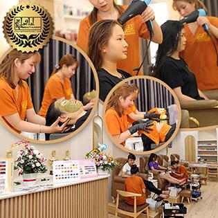 Combo Dưỡng Sinh: Gội Đầu Canh Thảo Mộc + Massage + Chăm Sóc Da Mặt Tại Lali Beauty Academy