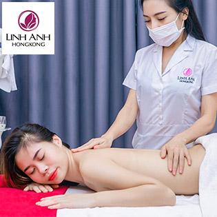 Combo 2 Dịch Vụ Chỉ 93K Massage Body + Chăm Sóc Da Mặt Cấp Nước Tái Tạo Da Tại TM Linh Anh Hong Kong