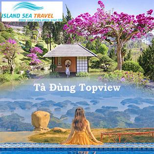 Tour Tà Đùng - Đà Lạt 2N2Đ - Đồi Chè Cầu Đất - Vườn Hoa Cẩm Tú Cầu - KDL Lá Phong - TTC World Thung Lũng Tình Yêu - Que Garden - Khu Vườn Trên Mây - Tà Đùng Top View