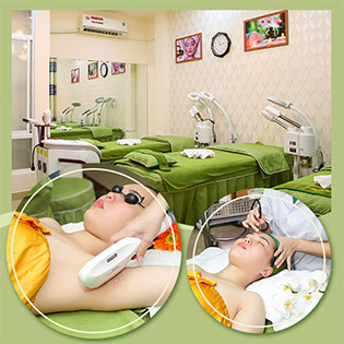 Ưu Đãi Cuối Năm - Massage Body + Foot/ Tắm Trắng/ Triệt Lông/ Cấy Tảo/ Tế Bào Gốc/ Trị Mụn/ Nối Mi/ Vitamin C Tại Mộc Lan Spa