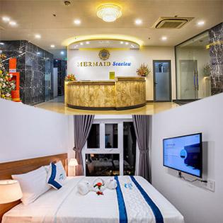 Mermaid Seaview Hotel Vũng Tàu - 2N1Đ Căn Hộ 2 Phòng Ngủ - Hướng Phố - Dành Cho 4 Khách