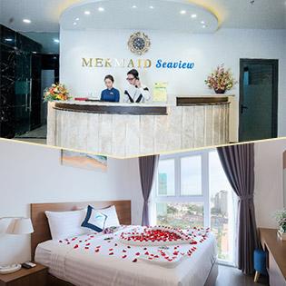 Mermaid Seaview Vũng Tàu - 2N1Đ Căn Hộ 2 Phòng Ngủ - Hướng Góc Biển - Dành Cho 4 Khách