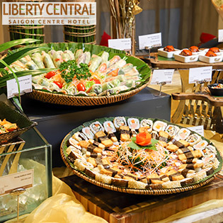 Buffet Chay Trưa Hơn 60 Món - KS Liberty Central Saigon Centre