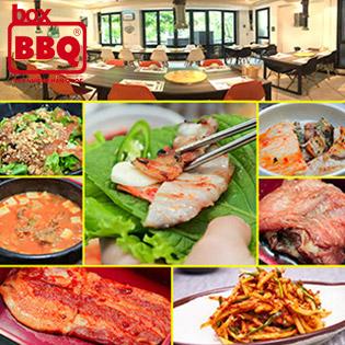 Thưởng Thức Menu Mới Siêu Hấp Dẫn - Buffet Chuẩn Vị Hàn Tại Box BBQ