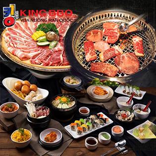 Menu Nướng Đặc Biệt 289K Tại King BBQ Hàm Nghi