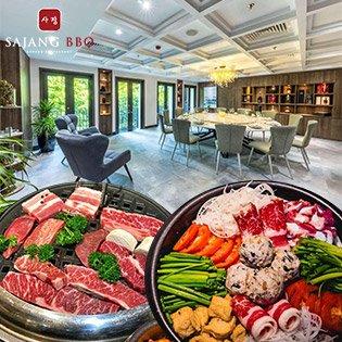 Buffet Nướng Lẩu Hàn Quốc Không Giới Hạn - Sajang BBQ