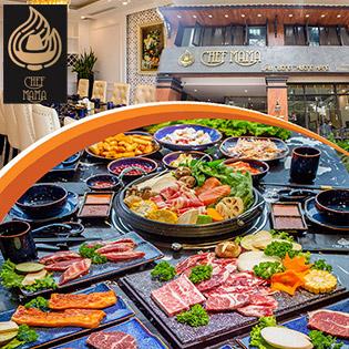 Buffet Nướng Lẩu Thượng Hạng 5 Sao Chuẩn Hàn Quốc - Chef Mama (Hàm Long)