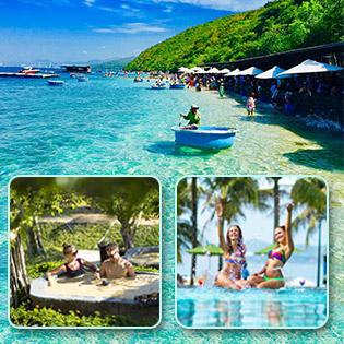 Tour Cano 1 Ngày Ngắm San Hô Tại Nha Trang - Khám Phá Vịnh San Hô - Làng Chài - Bãi Tranh + Tắm Bùn Tại Hòn Tằm Resort - Không Phụ Thu Cuối Tuần