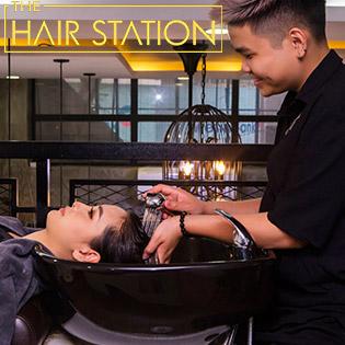 Gội Đầu Tẩy Da Chết Da Đầu, Massage Cổ Vai Gáy Tại The Hair Station