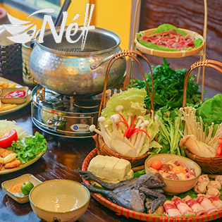 Combo Lẩu Thuốc Bắc, Gà Ác, Bò Mỹ Cho 3-4 Người Tại NH Nét Mỳ Tần