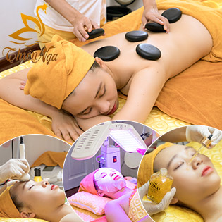 (90') Vi Kim Nano Vàng 24k/ Hút Chì/ Lấy Mụn/ Chạy C/ Trị Liệu/ Chăm Sóc Da Chuyên Sâu/ Massage Đá Nóng – Thiên Nga Spa Tân Bình