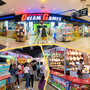 Combo 60 Xu Game + Game Thực Tế Ảo (Combo 2 Người) - Dreamgames Royal City