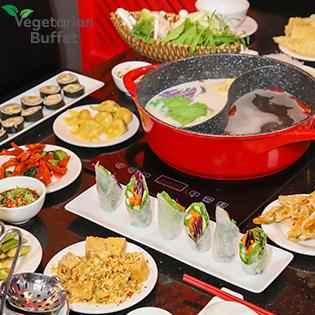 Buffet Lẩu Chay Hongkong Buổi Trưa