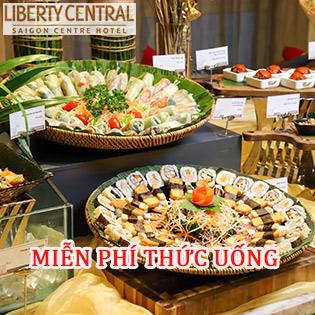 Buffet Chay Trưa Hơn 60 Món - KS Liberty Central Saigon Centre