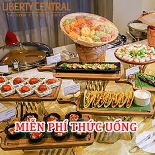 Buffet Tối Chay/ Alacarte Hơn 75 Món – KS Liberty Central Saigon Centre