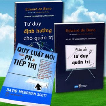 Bộ 3 Cuốn Sách Kinh Tế Của Eward De Bono & David Meerman Scott