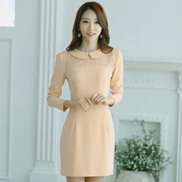 Đầm Vintage Phối Ren Ngực Size S