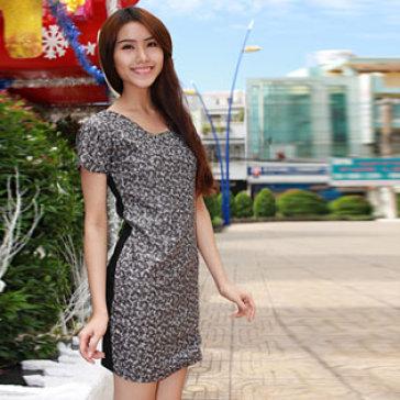 Đầm Kim Sa Đi Tiệc Sang Trọng