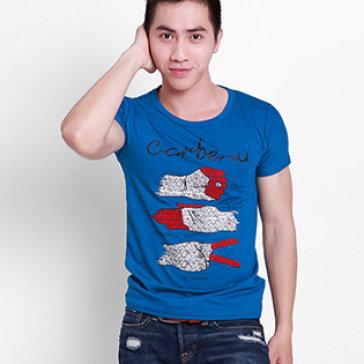 Áo Thun Nam MTV Fashion Màu Đen