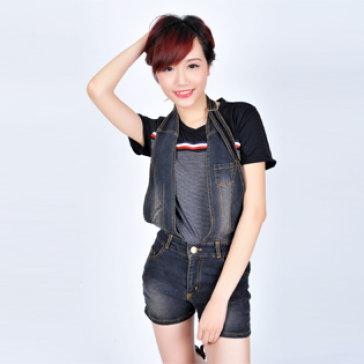Quần yếm thời trang hot 2014 - Size L