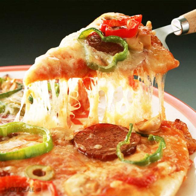 Thưởng Thức Pizza 221 Tại Pizza Rex