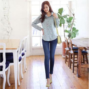 Quần Jeans Nữ Lưng Cao Size 30