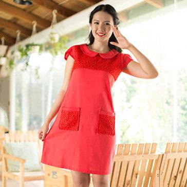 Đầm Linen Công Sở Cao Cấp Size L
