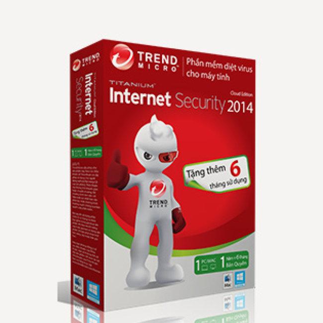 Phần Mềm Diệt Virut Trend Internet Security