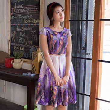 Đầm Lina Form Xòe
