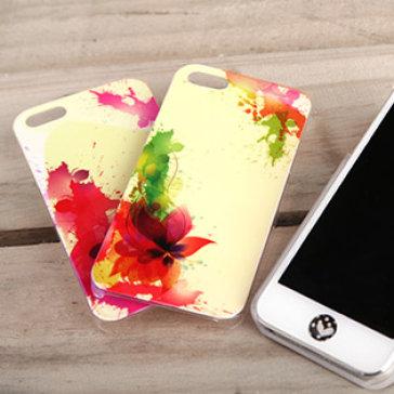 Ốp Lưng Iphone 5/5S Sắc Màu