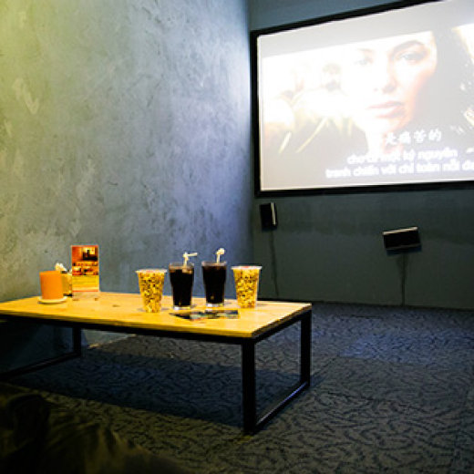 Thỏa Thích Ăn Uống, Xem Phim 3D Tại Bách Khoa Café Hà Nội