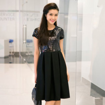 Đầm Kim Sa Vintage