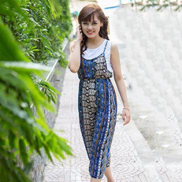Đầm Maxi Phong Cách Hàn Quốc