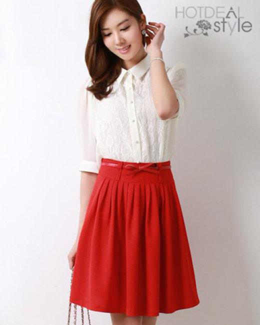 Chân Váy Xếp Ly Hàn Quốc