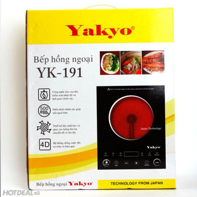 Bếp Đơn Hồng Ngoại Yakyo