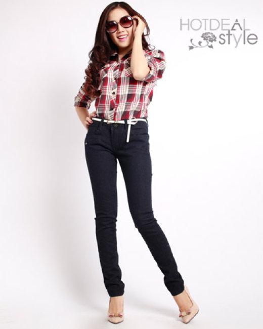 Quần Jeans Nữ Plupop Size M
