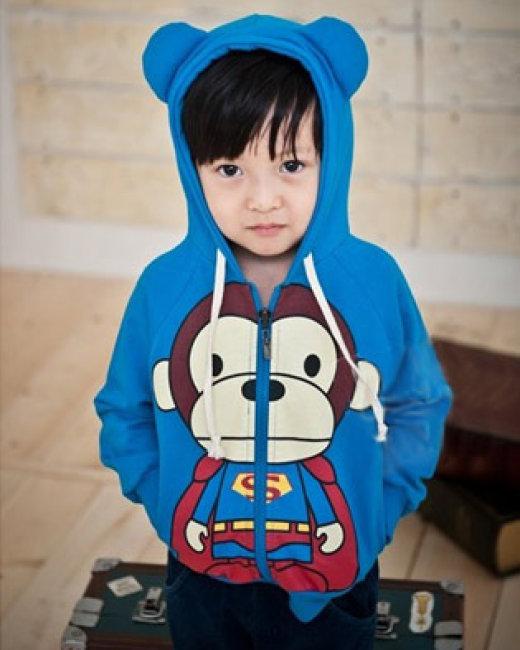 Áo Khoác Monkey Màu Xanh Chuối