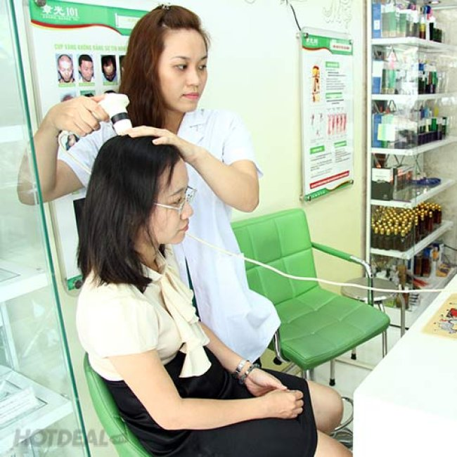 G i i u tr ch ng r ng t c b ng li u ph p ng y t i 101 for 101 beauty salon