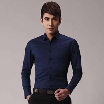 Áo Sơ Mi Nam Hàn Quốc Vải Đẹp Form Chuẩn
