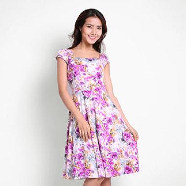 Đầm Hoa Vintage