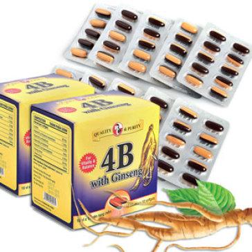 Bổ Sung Vitamin Nhóm B Và Nhân Sâm 4B With Ginseng