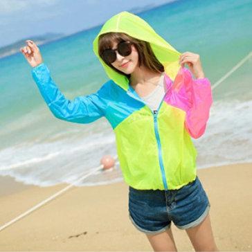 Áo Khoác Mỏng Sắc Màu Summer