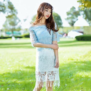 Chân Váy Ren Hoa