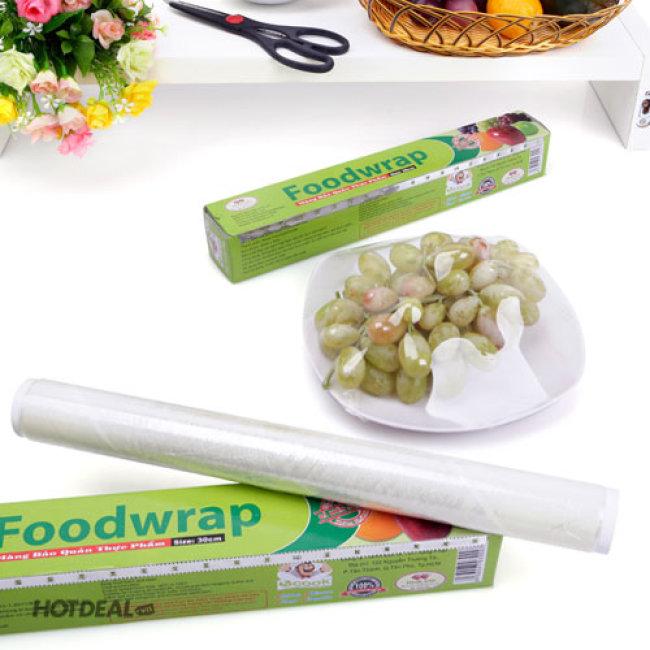 Combo 4 Cuộn Màng Bọc Thực Phẩm Plastic Food Wrap